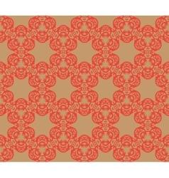 Retro decorative seamless pattern Endless vector