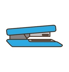 Stapler office supply icon vector