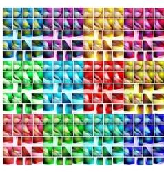 Wave mega set pack backgrounds vector