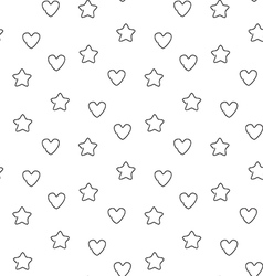 Favorite seamless pattern vector image