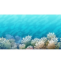 Coral Reef Pattern vector image vector image