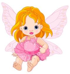 Cute Baby Fairy vector image vector image