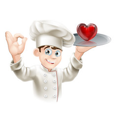 love food vector image vector image