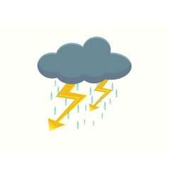 Storm icon vector image