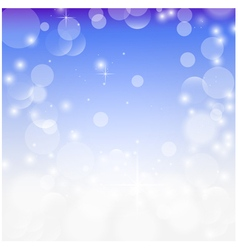 Abstract festive colorful bokeh background vector image