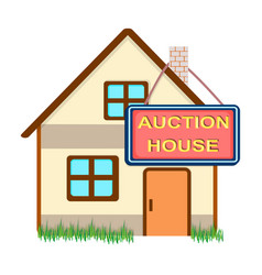 auction house for sale e-commerce single icon in vector image vector image