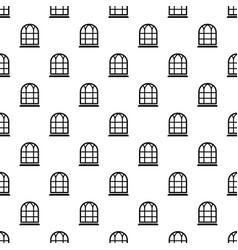 Big window frame pattern seamless vector