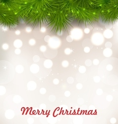Christmas Illuminated Background with Realistic vector