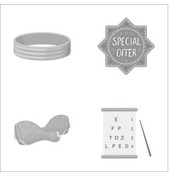 medicine holiday wedding and other monochrome vector image