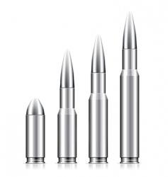 Set bullets vector