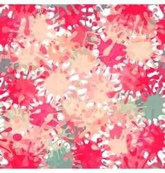 Splash Abstract Seamless Pattern Background vector image