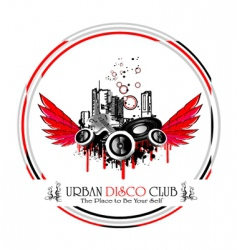 Urban discoteque vector
