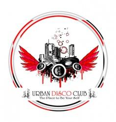 urban discoteque vector image