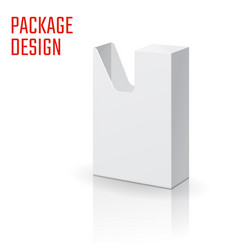 white box 57-04 vector image