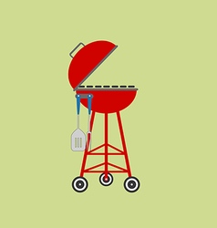 Barbecue Grill Icon vector image