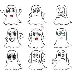 beautiful bring different emotions vector image