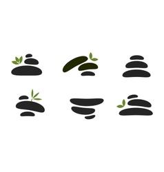 Spa stones vector image vector image