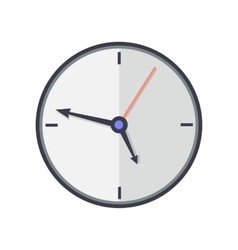 Time and Clock Icon Office Interior Design vector image vector image