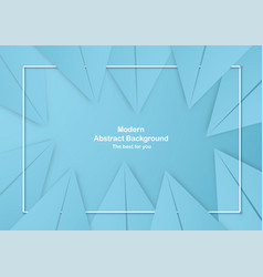 abstract blue background with pastel color vector image