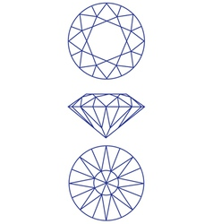 Diamond scheme vector