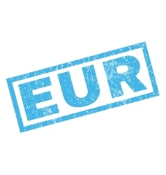 Eur Rubber Stamp vector