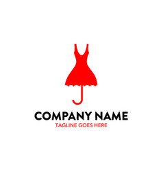 fashion and boutique logo vector image
