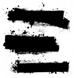Grunge strips vector