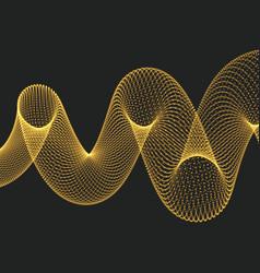 Helix molecular lattice 3d vector