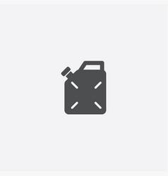 Jerrycan icon vector