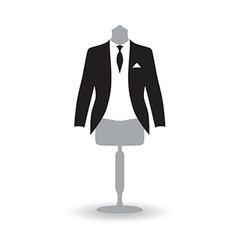 suit man vector image
