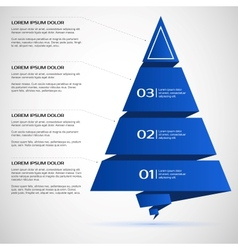 Template for presentations banners infographics vector image