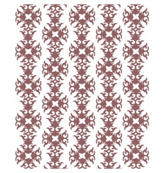 Vintage abstract geometric floral pattern vector