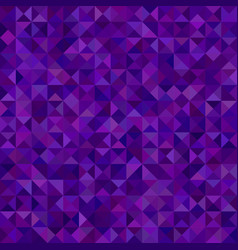 Abstract triangle tiled mosaic background - vector