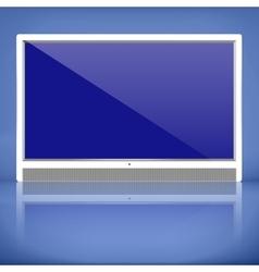 TV plasma vector image
