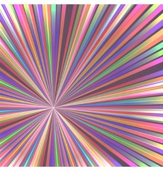 abstract colorful rays vector image
