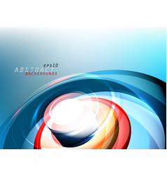 Abstract colors media motion graphics vector