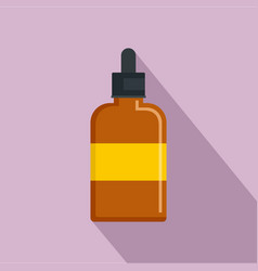 bee sirop icon flat style vector image