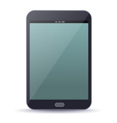 Ebook device with blank screen vector