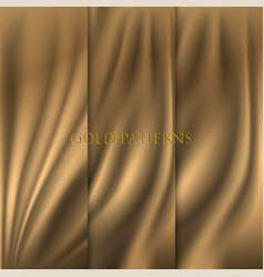 Gold background with pattern vector