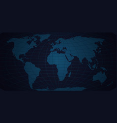 map of the world background abstract new vector image
