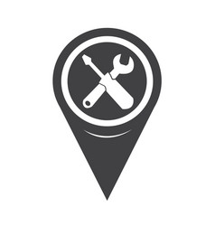 map pointer tool icon vector image