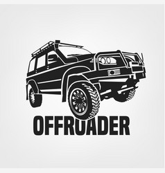 off-road car image vector image