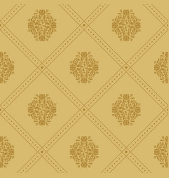 vintage royal pattern vector image