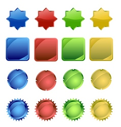 web buttonsl vector image