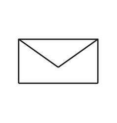 envelope of icon vector image vector image