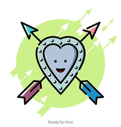 for Valentines Day vector image