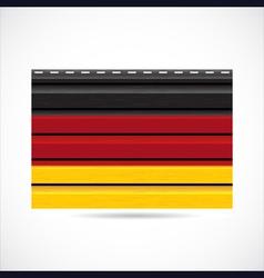 Germany siding produce company icon vector image