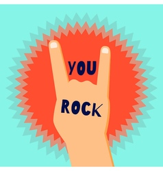 yourock vector image