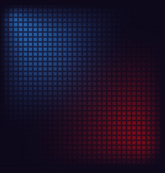 blue and red squares vector image