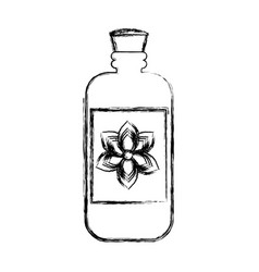 Cream bottle isolated vector